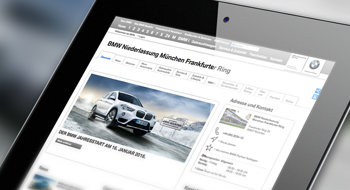 BMW Partner – Integration der Händlerseiten